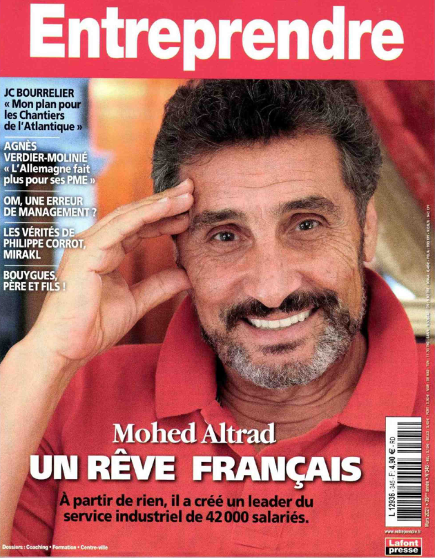 """Mohed Altrad, interview avec le magazine """"Entreprendre"""""""